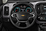 Car pictures of steering wheel view of a 2016 Chevrolet Colorado Work-Truck-Crew 4 Door Pick-up Steering Wheel