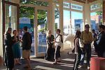 art opening, First Saturday, Northwind Art Center, Port Townsend Historic District, Washington State,