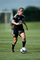 Hayley Siegel.  The D.C. United Women defeated the Charlotte Lady Eagles, 3-0, to win the W-League Eastern Conference Championship.
