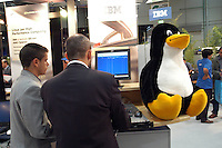 - SMAU, international exibition of electronics, computer science and technological innovation, advertising IBM Linux..- SMAU, salone internazionale dell'elettronica, informatica e innovazione tecnologica, pubblicità IBM Linux