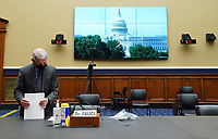 Dr. Anthony Fauci, Director, National Institute for Allergy and Infectious Diseases, National Institutes of Health, arrives for a House Committee on Energy and Commerce hearing on the Trump Administration's Response to the COVID-19 Pandemic, on Capitol Hill in Washington, DC on Tuesday, June 23, 2020. <br /> Credit: Kevin Dietsch / Pool via CNP/AdMedia