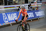 """Annemiek Van Vleuten (NED) wins by 2'15"""" the Women Elite Road Race of the UCI World Championships 2019 running 149.4km from Bradford to Harrogate, England. 28th September 2019.<br /> Picture: Eoin Clarke 