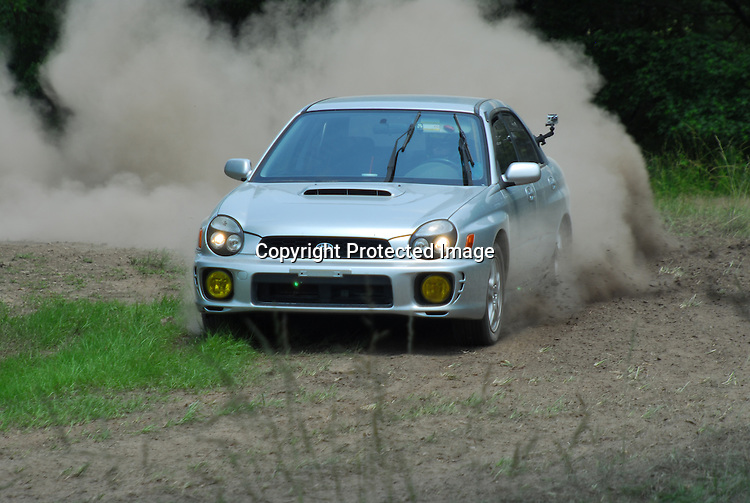 Subaru WRX are very popular with the rallycross crowd, and this one is no different.  Sara pilots her WRX with authority, showing the boys that girl drivers can hang off road!