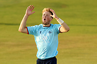 Frustration for Ben Allison of Essex during Essex Eagles vs Cambridgeshire CCC, Domestic One-Day Cricket Match at The Cloudfm County Ground on 20th July 2021