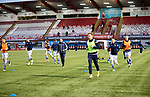 Hamilton Accies v St Johnstone …03.03.21   Fountain of Youth Stadium   SPFL<br />Liam Craig pictured during the warm-up ahead of kick off<br />Picture by Graeme Hart.<br />Copyright Perthshire Picture Agency<br />Tel: 01738 623350  Mobile: 07990 594431