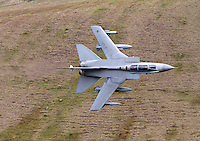 Tornado GR4 fighter jet at Cad West