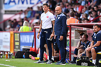 Stevenage FC Manager Alex Revell during Stevenage vs Watford, Friendly Match Football at the Lamex Stadium on 27th July 2021
