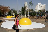 17.09.2020 - Virada Sustentável - Instalação artística Eggcident em SP