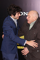 """NEW YORK, NY - FEBRUARY 04: Dimitri Leonidas, Harry Ettlinger at the New York Premiere Of Columbia Pictures' """"The Monuments Men"""" held at Ziegfeld Theater on February 4, 2014 in New York City, New York. (Photo by Jeffery Duran/Celebrity Monitor)"""