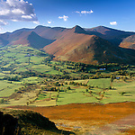 Great Britain, England, Cumbria (Lake District),: A Lakeland Valley in Autumn | Grossbritannien, England, Cumbria (Lake District): Herbstlandschaft im Lake District