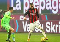 Milano  23-12-2020<br /> Stadio Giuseppe Meazza<br /> Campionato Serie A Tim 2020/21<br /> Milan Lazio<br /> nella foto: Ante Rebic                                                         <br /> Antonio Saia