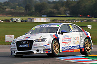 Round 5 of the 2020 British Touring Car Championship. #19 Bobby Thompson. GKR Tradepricecars.com. Audi A3.
