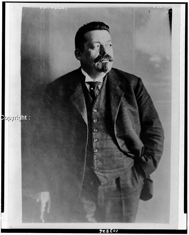 President Friedrich Ebert of Germany<br /> ,1921 Feb. 14. <br /> <br /> he was the  first President of Germany from 1919 until his death in office in 1925.