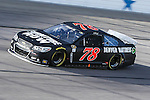 Sprint Cup Series driver Martin Truex Jr. (78) in action during the Nascar Sprint Cup Series Duck Commander 500 practice at Texas Motor Speedway in Fort Worth,Texas.