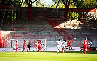 17th May 2020,Stadion An der Alten Försterei, Berlin, Germany; Bundesliga football, FC Union Berlin versus Bayern Munich; Players of both teams in action in the empty stadium.