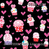 Sarah, GIFT WRAPS, GESCHENKPAPIER, PAPEL DE REGALO, paintings+++++Val-cupcake-13-A,USSB324,#GP# ,everyday