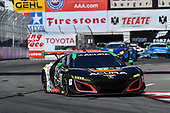 2017 IMSA WeatherTech SportsCar Championship<br /> BUBBA burger Sports Car Grand Prix at Long Beach<br /> Streets of Long Beach, CA USA<br /> Saturday 8 April 2017<br /> 86, Acura, Acura NSX, GTD, Oswaldo Negri Jr., Jeff Segal<br /> World Copyright: Richard Dole/LAT Images<br /> ref: Digital Image RD_LB17_381