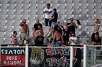 Cosenza fans cheer on during the Italy cup football match between ACF Fiorentina and Cosenza calcio at Artemio Franchi stadium in Florence (Italy), August 13th, 2021. Photo Andrea Staccioli / Insidefoto