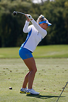 6th September 2021: Toledo, Ohio, USA;  Charley Hull of Team Europe warms up on the practice range before playing her singles match in the Solheim Cup on September 6, 2021 at Inverness Club in Toledo, Ohio.