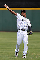 Lakeland Flying Tigers infielder Dixon Machado #13 before a game against the Daytona Cubs at Joker Marchant Stadium on April 29, 2012 in Lakeland, Florida.  Lakeland defeated Daytona 6-4.  (Mike Janes/Four Seam Images)