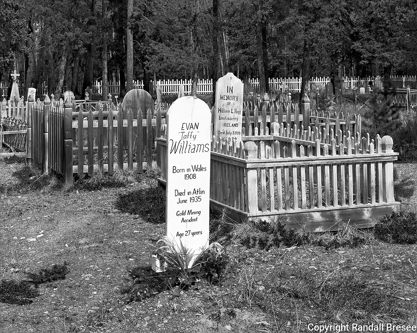 """""""Atlin Pioneer Cemetery"""" <br /> British Columbia, Canada<br /> <br /> Much information can be found in a cemetery. The Pioneer Cemetery in Atlin, BC paints a vivid picture of the Atlin area after gold was discovered in 1898 and news quickly spread around the world. Grave markers show that people arrived from far and wide, including Wales, Ireland, England, Italy, Montenegro, Japan,  Nova Scotia, Sweden, Denmark and the United States. Many died at young ages from mining accidents, starvation, drowning and freezing."""
