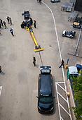 Richie Crampton, DHL, top fuel, support vehicle, Sienna