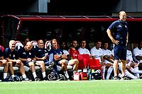 EMMEN - Voetbal, FC Emmen - Heracles Almelo , voorbereiding seizoen 2021-2022, 25-07-2021,  Heracles coach Dick Lukkien