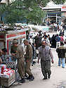 Iran 2004.A l'entrée du bazar de Sanandaj.<br />