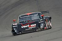17-19  July, 2009, Birmingham, Alabama USA.#12 Penske Racing Porsche/Riley of Timo Bernhard & Romain Dumas.©2009 F.Peirce Williams, USA.