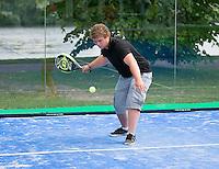 Den Bosch, Netherlands, 08 June, 2016, Tennis, Ricoh Open, Padel tennis<br /> Photo: Henk Koster/tennisimages.com