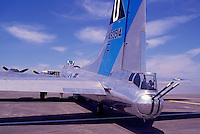 """Boeing B-17G Flying Fortress (""""Sentimental Journey"""") on Static Display - at Abbotsford International Airshow, BC, British Columbia, Canada"""