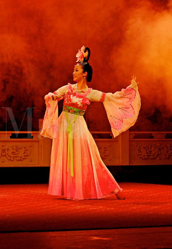Dancer at the Sichuan Opera, Chengdu.