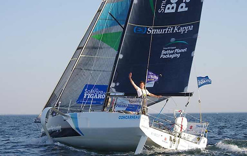 A solo skipper in harmony with his boat – Tom Dolan finished the 2020 Figaro in tune with ship and sea