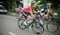 2013 Giro d'Italia.stage 13: Busseto - Cherasco...Mark Cavendish (GBR) & Juan Manuel Garate (ESP) hand-in-hand to the start