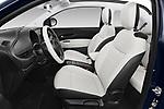 Front seat view of 2021 Fiat 500C La-Prima 2 Door Convertible Front Seat  car photos