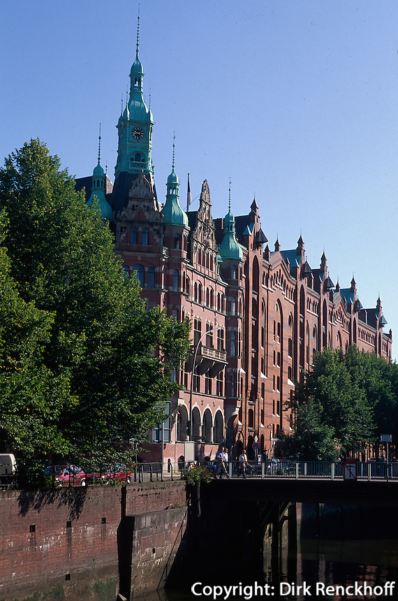 Deutschland, Hamburg, in der Speicherstadt