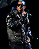 Jay-Z on his BP3 Tour stop at the IZOD Center March 6th. 2010
