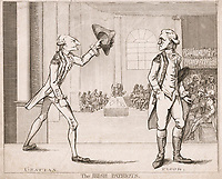 BNPS.co.uk (01202 558833)<br /> Pic: AmberleyBooks/BNPS<br /> <br /> Henry Grattan<br /> <br /> These full-blooded political skirmishes of a bygone age make today's Brexit infused disorder in the Commons seem almost tame by comparison.<br /> <br /> Historian Eugene Wolfe has charted the history of discord in British politics over the past 400 years in his new book, Parliamentary Violence in the United Kingdom.<br /> <br /> He has listed over 800 incidents were tensions have got out of hand, with some leading to sword duels between MPs and brawls on the floor.<br /> <br /> One former prime minister, William Pitt, even challenged a political rival to a gun duel on Putney Heath.