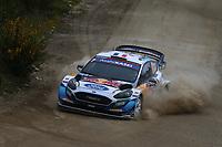 21st May 2021, Arganil, Portugal. WRC Rally of Portugal;  Adrien Fourmaux-Ford Fiesta WRC