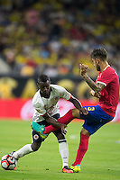 Action photo during the match Colombia vs Costa Rica at  NRG Stadium Copa America Centenario 2016. ---Foto  de accion durante el partido Colombia vs Costa Rica, En el Estadio NRG Partido Correspondiante al Grupo - A -  de la Copa America Centenario USA 2016, en la foto: (I)-(D) Marlos Moreno, Francisco Calvo<br /> --- 11/06/2016/MEXSPORT/Omar Martinez.