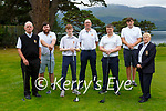 Members of the Kerry team that played in the Pierce Purcell fina against Nenaghl in Killarney Golf club on Sunday l-r: Dermot Roche, Luke Sweeney, Christian Casey, Denis Coleman Captain, Mick O'Neill, Darragh O'Callaghan, Marguerite Mulcahy