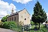 Evangelische Kirche Gau-Weinheim, neugotischer Bau, 1863
