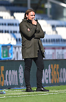 Norwich City's Manager Daniel Farke<br /> <br /> Photographer Dave Howarth/CameraSport<br /> <br /> The EFL Sky Bet Championship - Huddersfield Town v Norwich - Saturday September 12th 2020 - The John Smith's Stadium - Huddersfield<br /> <br /> World Copyright © 2020 CameraSport. All rights reserved. 43 Linden Ave. Countesthorpe. Leicester. England. LE8 5PG - Tel: +44 (0) 116 277 4147 - admin@camerasport.com - www.camerasport.com