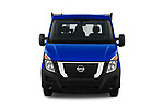 Car photography straight front view of a 2021 Nissan NV400 Acenta 2 Door Chassis Cab Front View