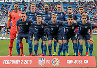 USMNT vs Costa Rica, February 02, 2019