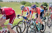 stage favourites of the day side-by-side in the peloton: Dylan Groenewegen (NED/LottoNL-Jumbo) & Marcel Kittel (DEU/QuickStep Floors)<br /> <br /> Ster ZLM Tour (2.1)<br /> Stage 2: Tholen > Hoogerheide (186.8km)