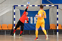 Liam Outtrim of Central during the Men's Futsal SuperLeague, Central Futsal v Southern United Futsal at ASB Sports Centre, Wellington on Saturday 31 October 2020.<br /> Copyright photo: Masanori Udagawa /  www.photosport.nz