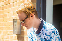 Friday 26 May 2017<br /> Pictured: Richard Punchard leaves Swansea Magistrates Court.<br /> Re: Richard Punchard has appeared before Magistrates Court been charged following an incident at Swansea Quadrant shopping centre on Wednesday.<br /> The 21-year-old has been charged with placing an article with intent, a bomb hoax.