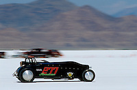 Speed Week Bonneville Salt Flats #277 B/GR 1928 Ford Roadster