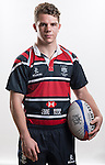 Hong Kong Junior Squad team member Seb Brian poses during the Official Photo Session Day at King's Park Sports Ground ahead the Junior World Rugby Tournament on 25 March 2014. Photo by Andy Jones / Power Sport Images